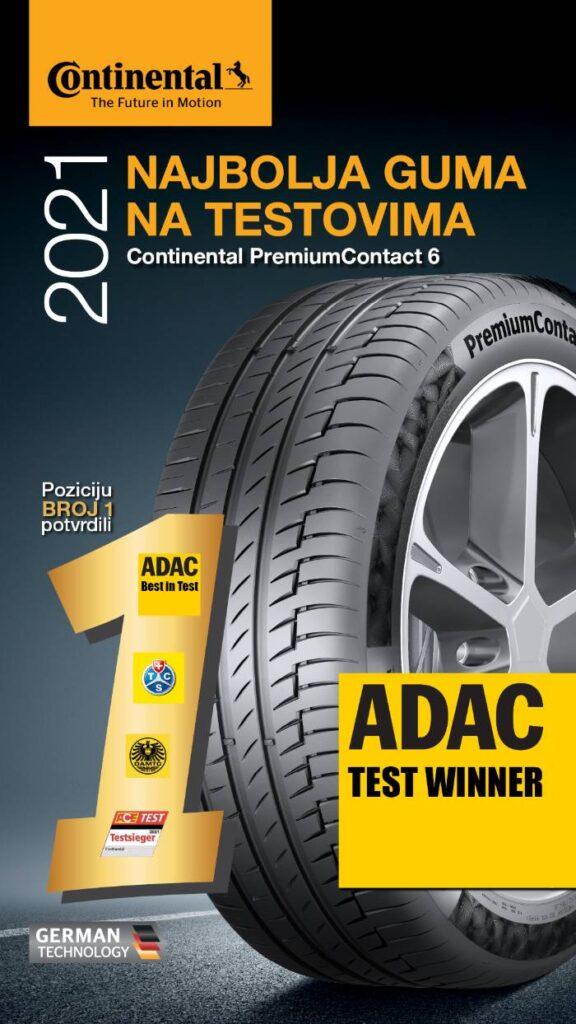 adac test ljetnih guma 2021